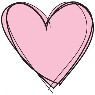 coeur-rose-sur-fond-blanc