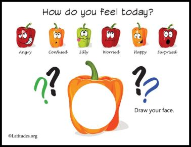Draw-How-You-Feel-Today-Peppers-Feelings-Chart-Border
