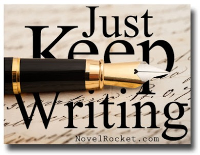 "Image result for ""Just keep writing"" clipart"