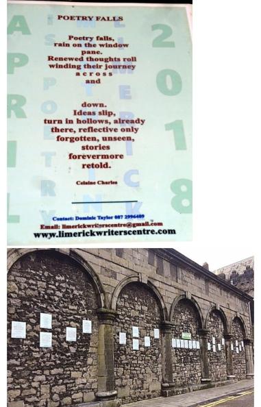 Limerick Writers Center Pic 2017