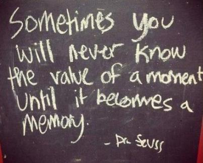 Value of a Memory dr suess