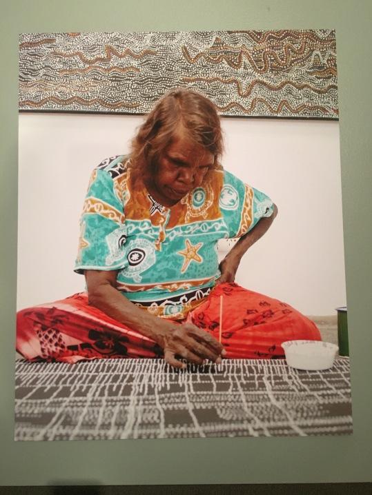 Dorothy Napangardi working