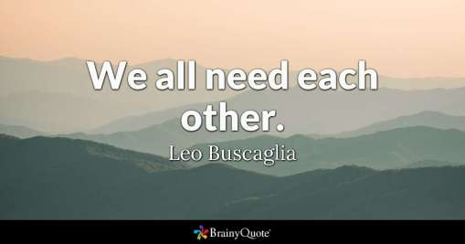 need each other 2
