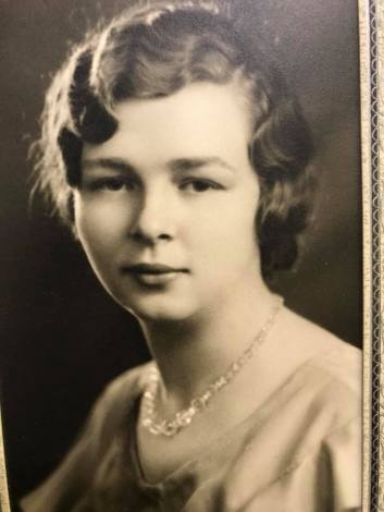 Grandma Benner 1934 Grad Pic