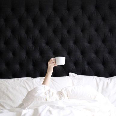 Sat morning in bed