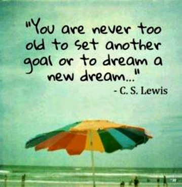 Age and Creating quote C.S.Lewis