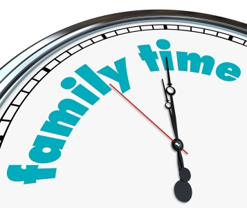 Family Time - Clock