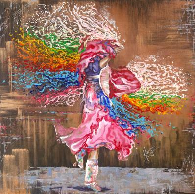 colors seven dancing through colors