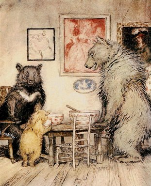 rules of three bears