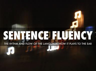 pacing sentence fluecy