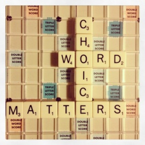 pacing word choice matters
