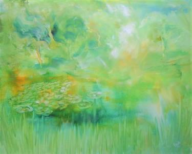 Spring Green Emerald - Spring Green by Elena Ivanova