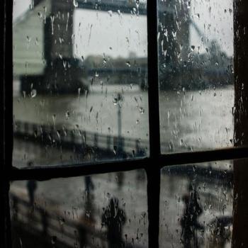 sad rain poem
