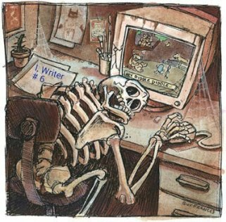 skeleton writer 1