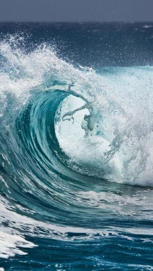 ocean writing waves