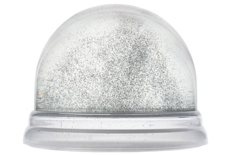 chocolate snow globe 2019