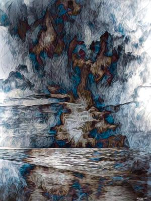 elfchen into-the-storm-abstract-angel-artist-stephen-k