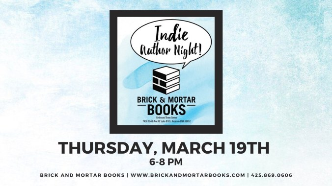 Indie Author Night March 19 2020