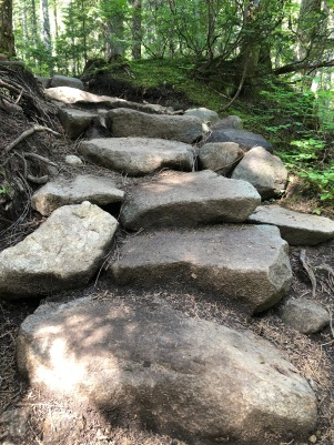 stairs big rock stepping stones
