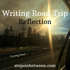 Rearview Mirror Writing Road Trip