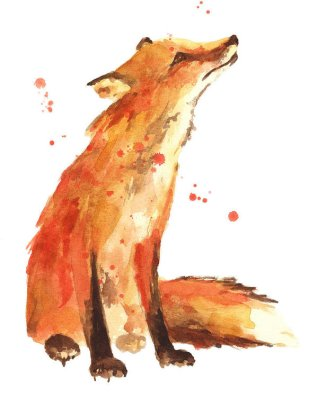TM Interview fox-painting--print-from-original-alison-fennell